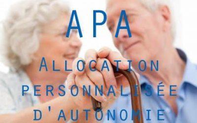 Demande d'APA (allocation personnalisée pour l'autonomie) en Ile de France